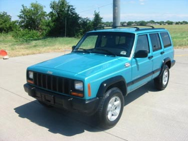 1997 jeep cherokee sport 4x4 for sale. Black Bedroom Furniture Sets. Home Design Ideas