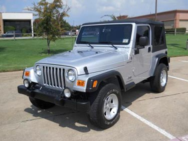 used jeep Wrangler Texas