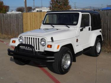 Beautiful 1998 Jeep Wrangler 4x4 Sahara · Used Jeep Wrangler DFW