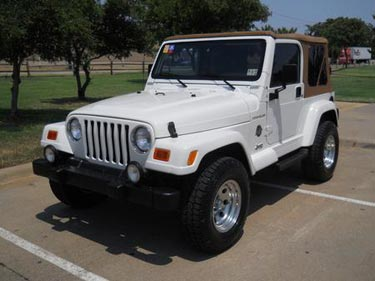 2002 Jeep Wrangler 4x4 Sahara · Used Jeep Wrangler Ft Worth
