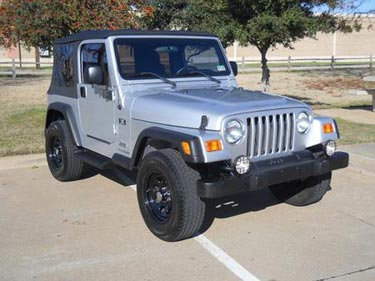 used jeep Wrangler Dallas