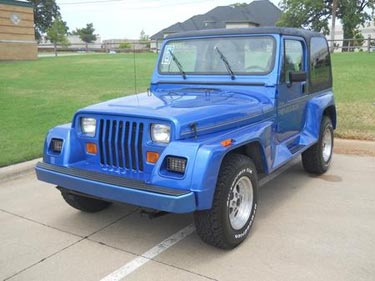 1992 Jeep Wrangler 4x4 Renegade For Sale