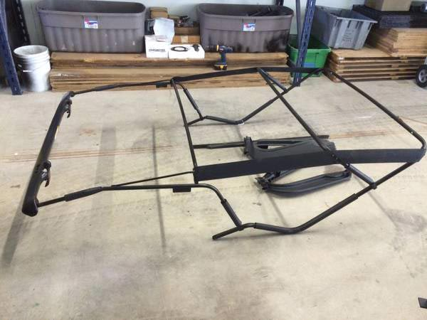 jeep wrangler lj oem soft top frame