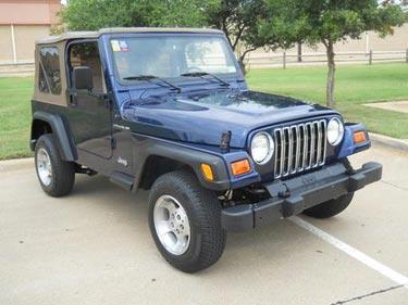 2002 Jeep Wrangler 4x4 SE for Sale
